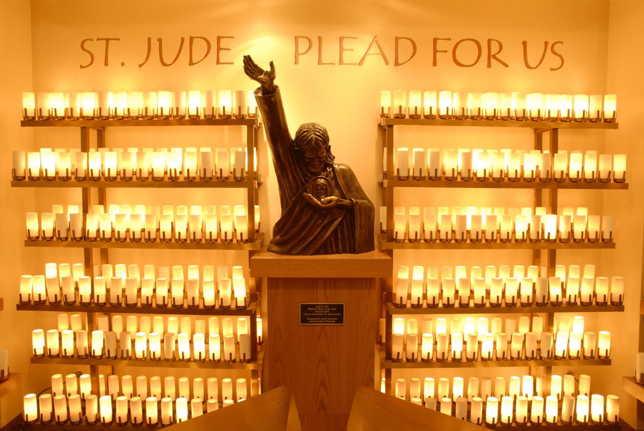 National Shrine of St. Jude Vigil Light Room