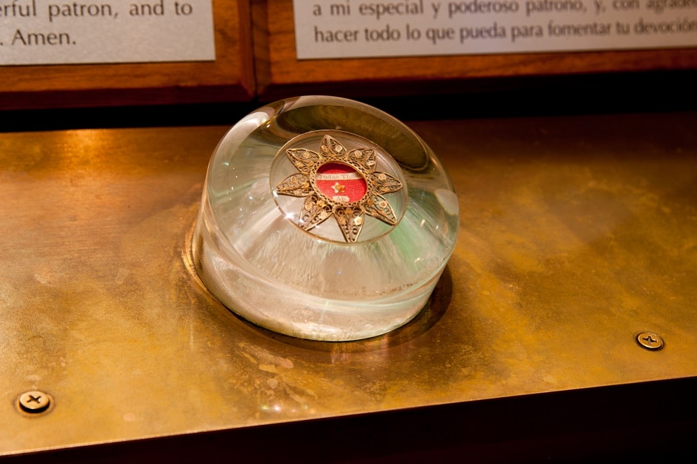 St. Jude Relic at the National Shrine of St. Jude
