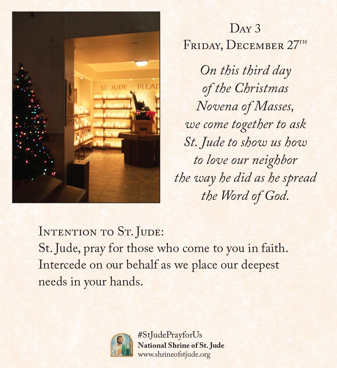 Christmas Novena Day Three
