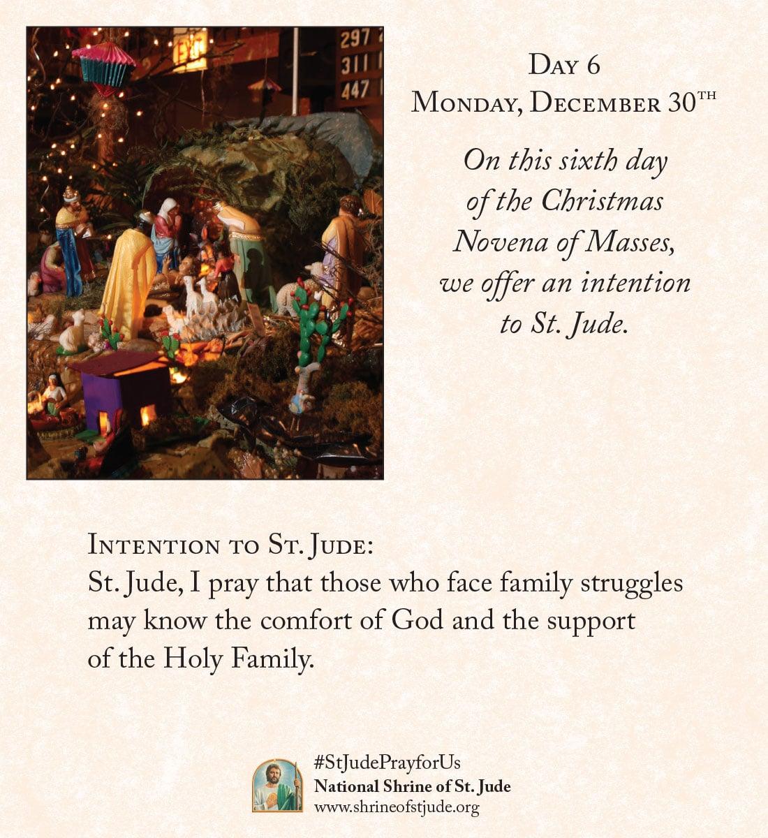 Christmas Novena Day Six