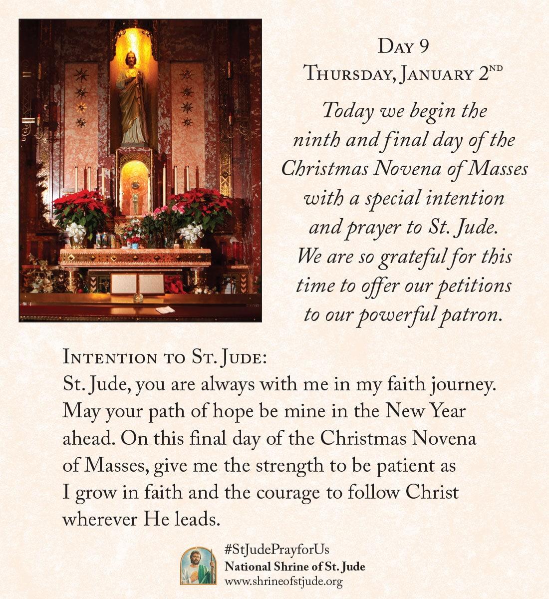 Christmas Novena Day Nine