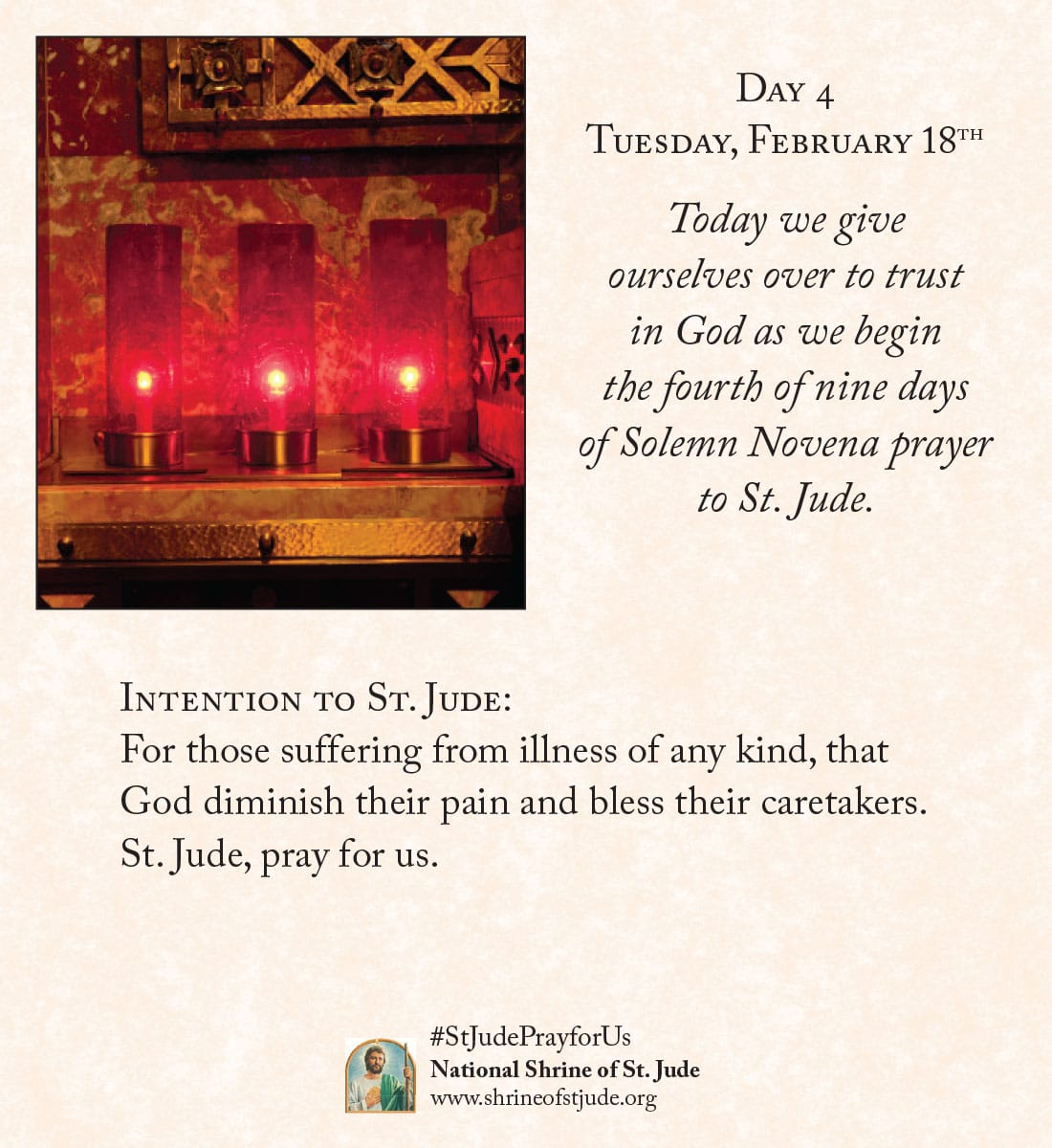 February Novena Day Four Meditation