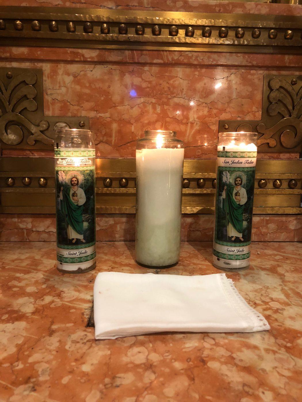 National Shrine of St. Jude Altar Candles