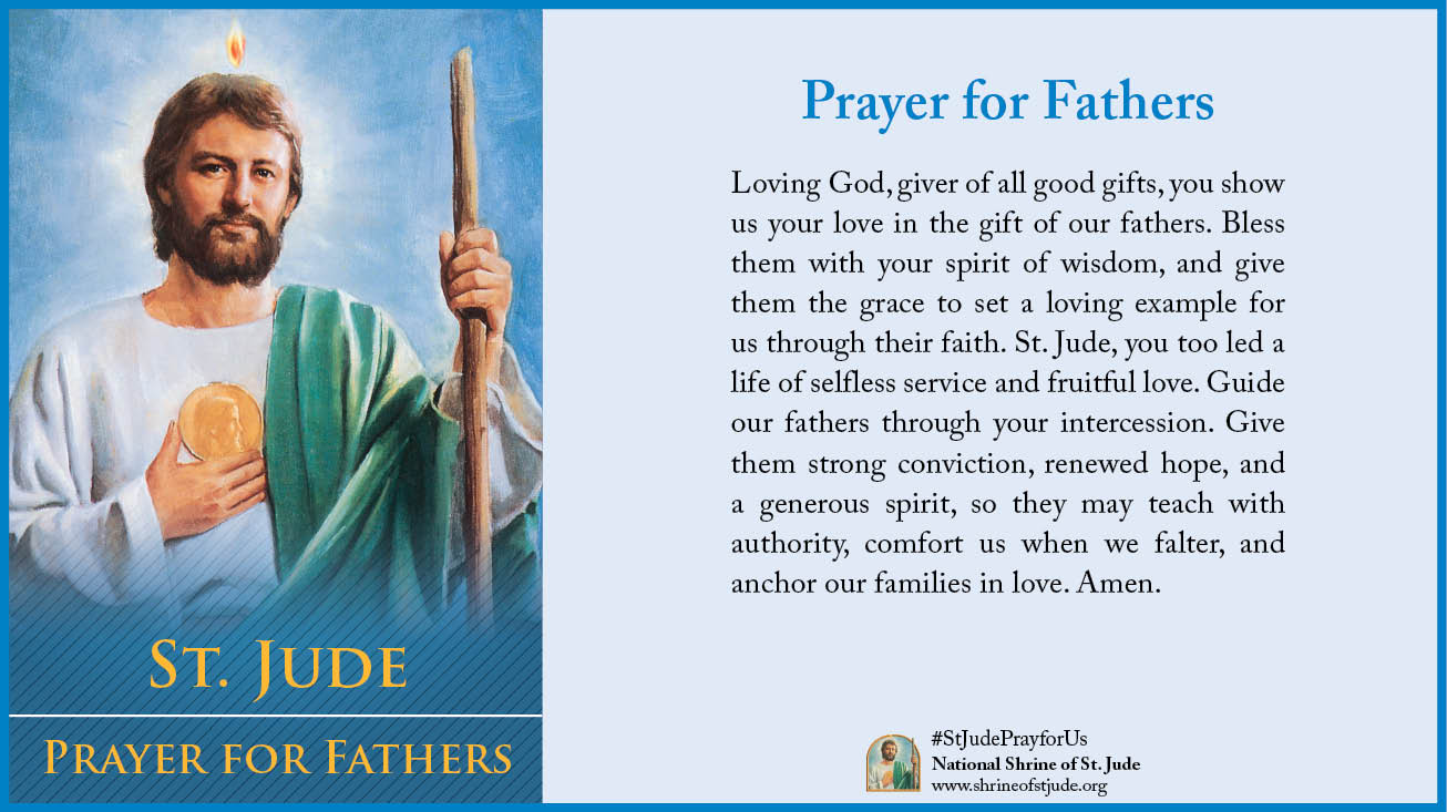 ECards StJude 2014 PrayerforFathers