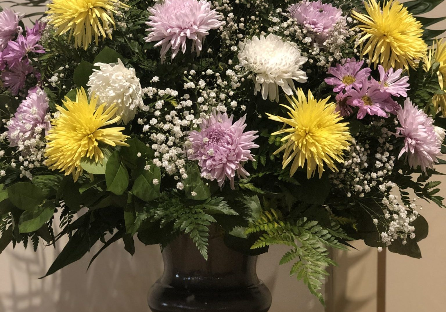 Our Lady of Guadalupe Altar Flowers