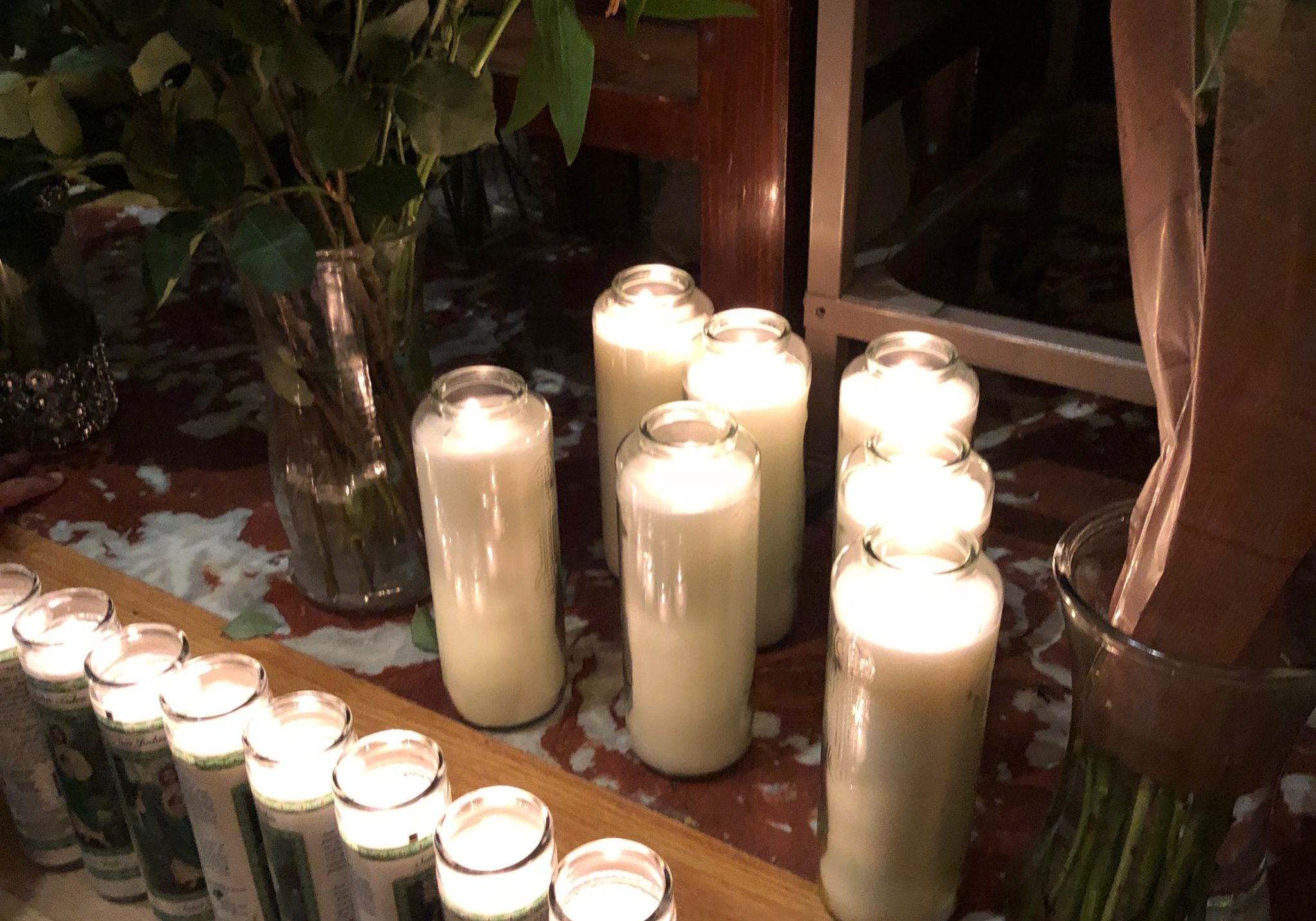 Shrine of St. Jude Altar Candles